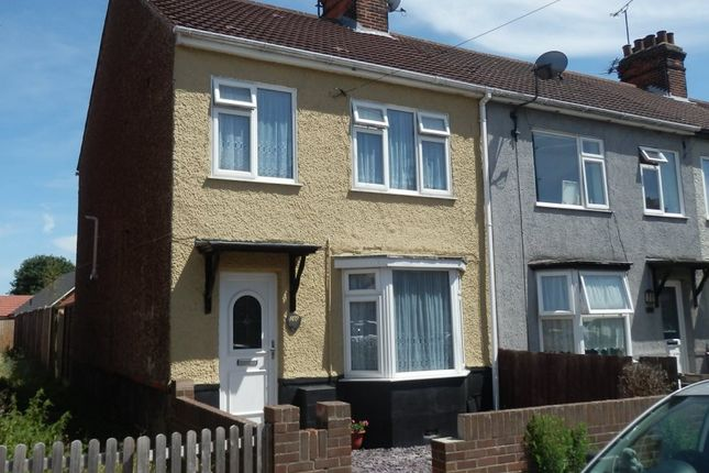 Thumbnail End terrace house for sale in Clarkes Road, Dovercourt