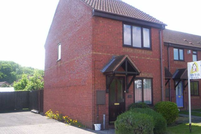 Thumbnail End terrace house to rent in Ormonds Close, Bradley Stoke, Bristol