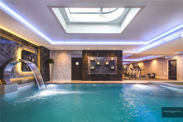 Swimming Pool of Aspen House, Chigwell, Essex IG7