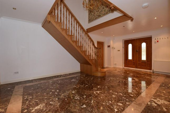 Thumbnail Detached house for sale in Manor Drive, Hartley, Longfield, Kent