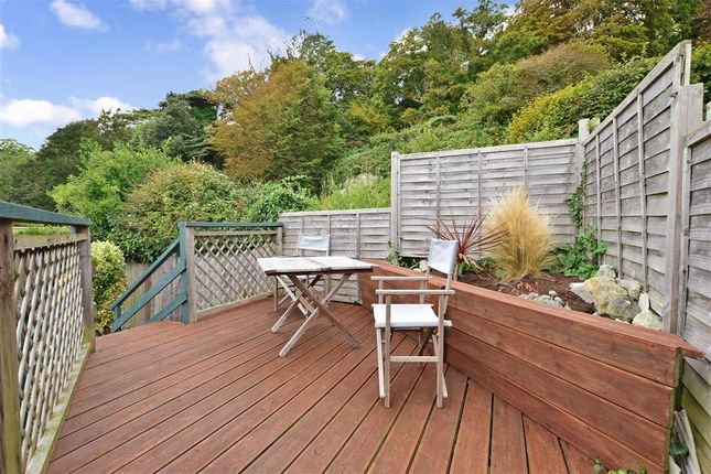 Patio / Decking of Castle Close, Ventnor, Isle Of Wight PO38