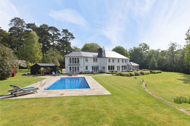 Thumbnail Detached house to rent in Woolmer Hill Road, Haslemere, Surrey