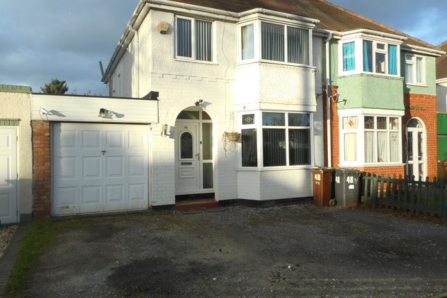 Thumbnail Semi-detached house for sale in Beech Road, Wolverhampton