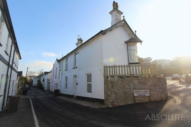 Thumbnail Terraced house to rent in Kents Lane, Torquay