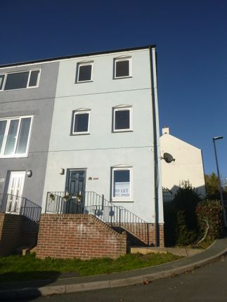 Thumbnail Town house to rent in Kingfisher Way, Plymouth