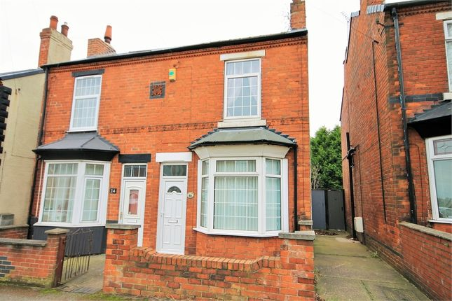 Thumbnail Semi-detached house to rent in Beresford Street, Mansfield, Nottinghamshire
