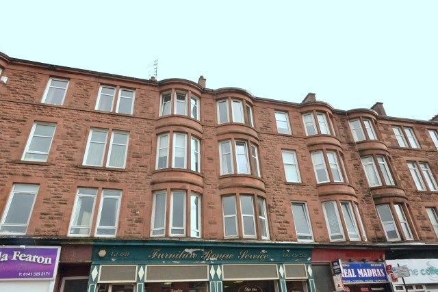 Thumbnail Flat for sale in 183 Clarkston Road, Glasgow