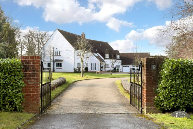 Thumbnail Detached house for sale in Queen Annes Road, Windsor, Berkshire
