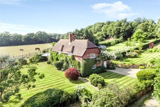 Thumbnail Detached house for sale in Hazeley Bottom, Hartley Wintney, Hook, Hampshire