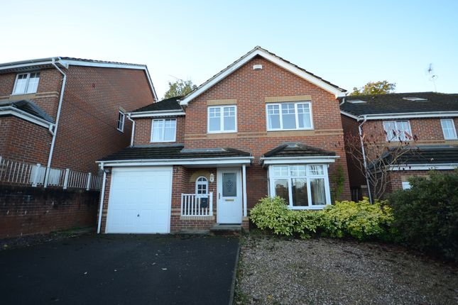 Thumbnail Detached house to rent in Tymawr, Caversham, Reading