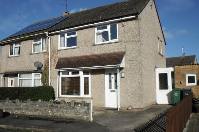 Thumbnail Semi-detached house to rent in Hither Close, Chippenham
