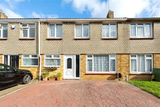 Thumbnail Terraced house for sale in Codenham Green, Kingswood, Essex