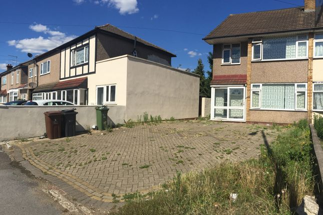 Thumbnail Semi-detached house for sale in Whalebone Lane North, Chadwell Heath