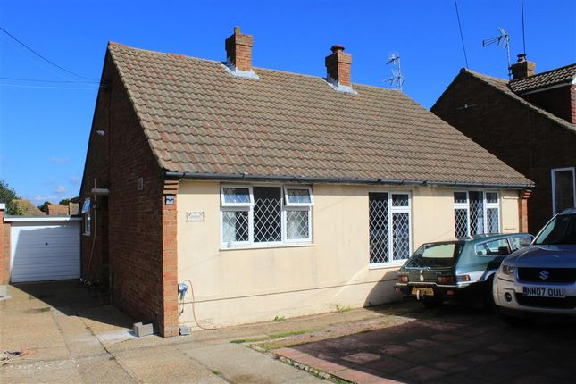 Thumbnail Detached bungalow for sale in Rattle Road, Stone Cross, Pevensey