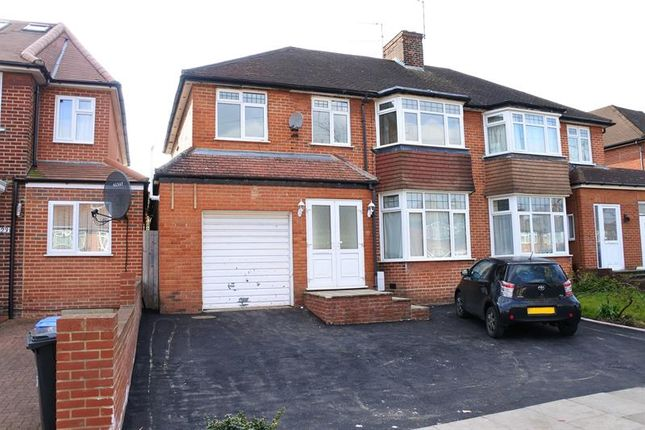 Thumbnail Semi-detached house for sale in Brantwood Gardens, Enfield