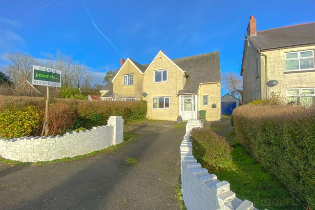 Thumbnail Semi-detached house for sale in Tremain, Cardigan