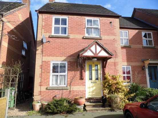 Thumbnail Terraced house for sale in Swanmere Court, Ellesmere, Shropshire