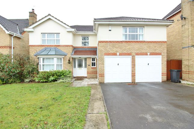 Thumbnail Detached house for sale in Priory Crescent, Langstone, Newport