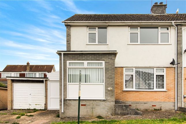 Thumbnail Semi-detached house to rent in Lea Combe, Axminster, Devon