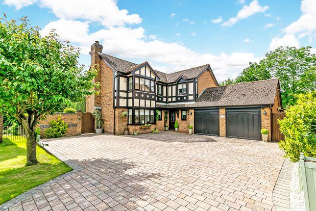 Thumbnail Detached house for sale in Rosemoor Gardens, Appleton, Warrington