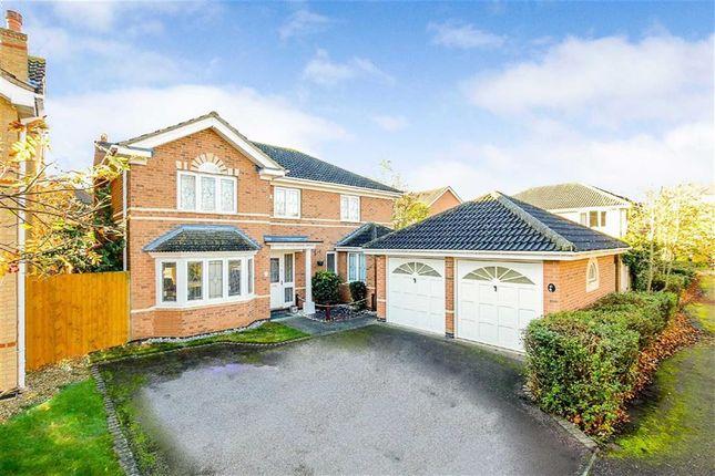 Thumbnail Detached house for sale in Heybridge Crescent, Caldecotte, Milton Keynes, Bucks