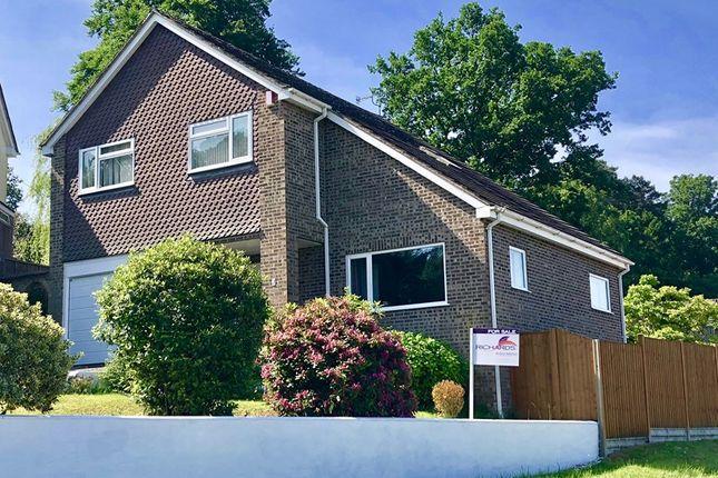 Thumbnail Detached house for sale in Orchard Close, Corfe Mullen, Wimborne