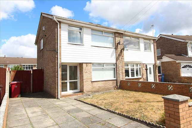 Thumbnail Semi-detached house for sale in Whitebeam Close, Kirkby, Liverpool