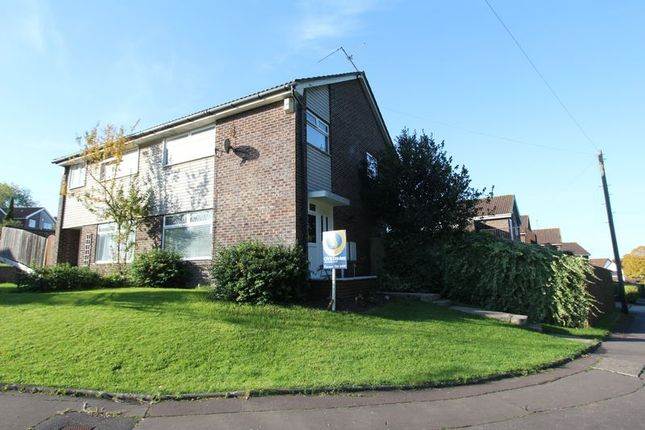 Thumbnail Semi-detached house for sale in Sandringham Close, Barry