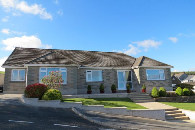 Thumbnail Detached bungalow for sale in Gribben Road, St Austell, St. Austell