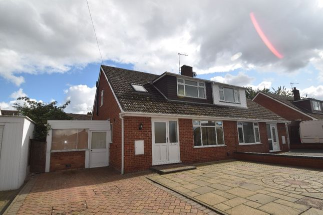 Thumbnail Semi-detached house to rent in Longford Road, Newport