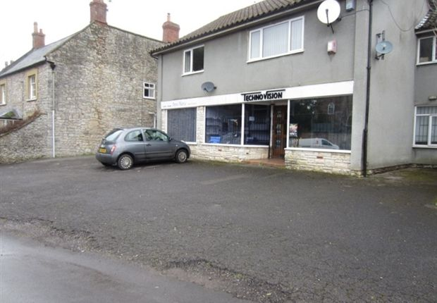 Commercial property to let in High Street, Wookey, Wells