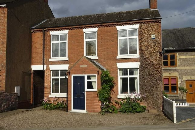 Thumbnail Link-detached house for sale in Broughton Road, Stoney Stanton, Leicester