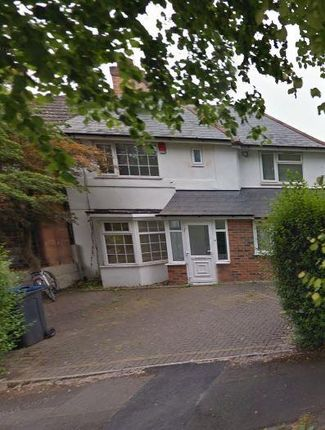 Thumbnail Detached house to rent in 1 Poole Crescent, Harborne, Birmingham