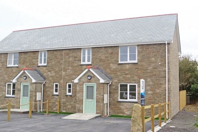 Thumbnail Semi-detached house to rent in South Street, Sheepwash, Beaworthy