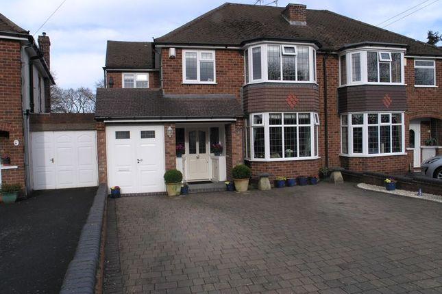 Thumbnail Semi-detached house for sale in Causey Farm Road, Halesowen