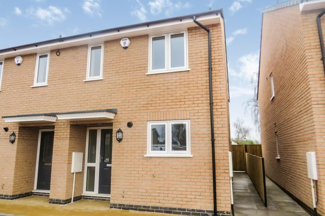 Thumbnail Semi-detached house for sale in Southfields Drive, Stanground, Peterborough