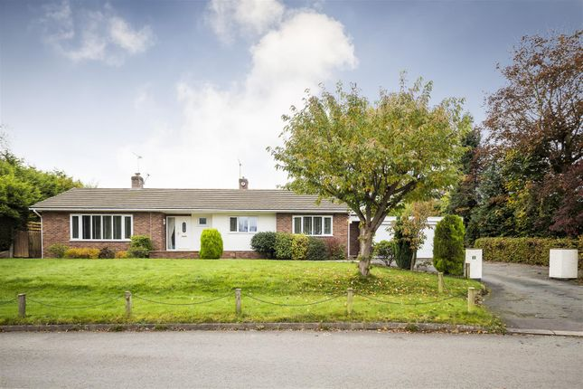 Thumbnail Detached bungalow for sale in Station Lane, Mickle Trafford, Chester