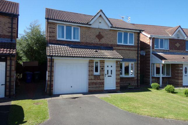 Thumbnail Detached house for sale in Brunton Way, Cramlington