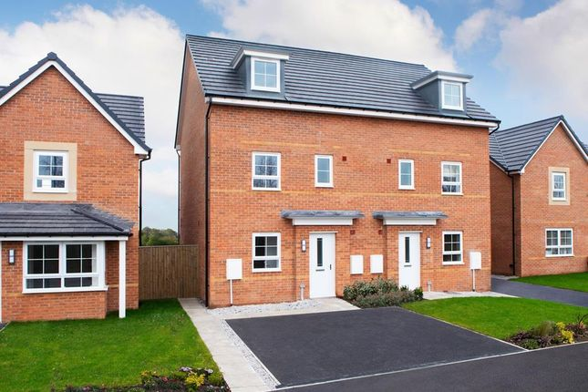 "Thumbnail Semi-detached house for sale in ""Woodcote"" at Somerset Avenue, Leicester"