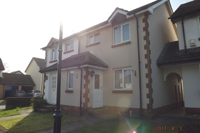 Thumbnail Terraced house to rent in Brook Court, Barnstaple