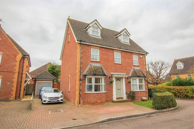 Thumbnail Detached house for sale in Chelsea Gardens, Church Langley, Harlow, Essex