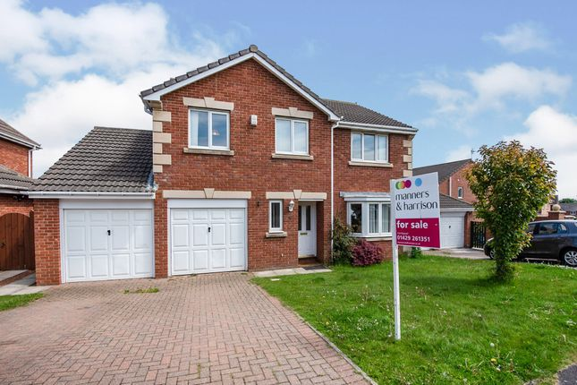 Thumbnail Detached house for sale in Lapwing Road, Hartlepool
