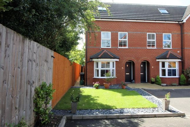 Thumbnail End terrace house for sale in Dashwood Close, Camberley