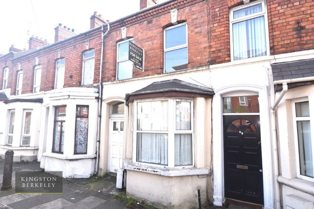 Thumbnail 4 bedroom terraced house to rent in Tates Avenue, Belfast