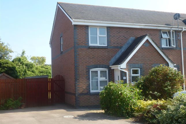 Thumbnail End terrace house to rent in St. Annes Crescent, Undy, Caldicot