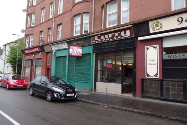 Thumbnail Studio to rent in Tullis Street, Glasgow