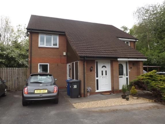 Thumbnail Flat for sale in Langwell Close, Birchwood, Warrington