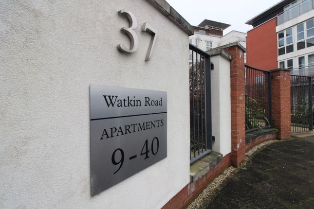 Thumbnail Flat for sale in Watkin Road, Freemans Meadow, Leicester