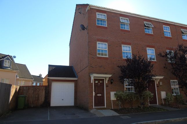 Thumbnail End terrace house for sale in Nightingale Gardens, Church Village, Pontypridd