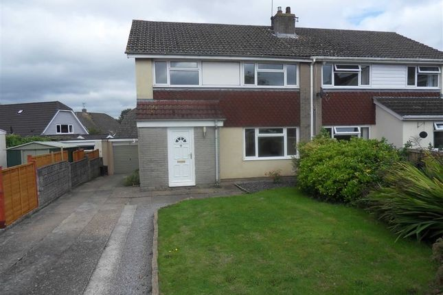 Thumbnail Semi-detached house to rent in Beaufort Gardens, Raglan, Usk, Monmouthshire